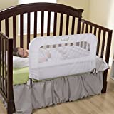 Summer Infant 2 in 1 Convertible Crib Rail to Bedrail (White)