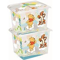 Preisvergleich für 2 x Spielzeugkiste Spielzeugbox Box Fashion-Box Disney Winnie Pooh 20 L