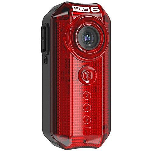 Cycliq Fly 6 - Cámara con luz integrada para bicicletas (720p, incluye tarjeta SD de 8GB, 2ª gen.)