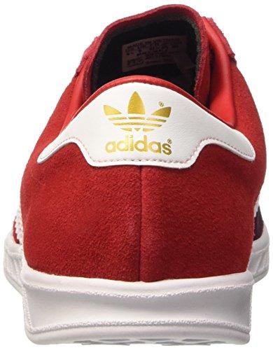 adidas Hamburg, Chaussures de Tennis Homme Multicolore - Multicolore (Maroon/Ftwwht/Maroon)