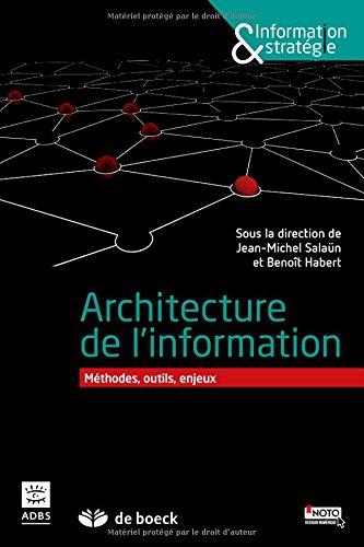 Architecture de l'information : Méthodes, outils, enjeux par Jean-Michel Salaün