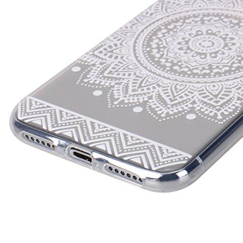iPhone X Tasche, iPhone X Tasche Silikon, iPhone 10 Tasche Silikon, Moon mood® Gemalt Entlastung Relief Design Silikon Hülle für Apple iPhone 10 X 5.8 Zoll Thin Dünn Weich TPU Schutz Etui Cover, Flexi 2 PCS - 2