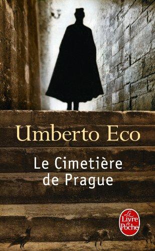 Le Cimetière de Prague par Umberto Eco