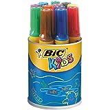 Bic 828970-ASS Kids Decoralo Feutres de Coloriage - Pot de 12