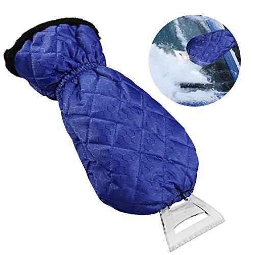 Gifort-Guanti-raschia-ghiaccio-per-Auto-Ice-Raschietto-veicolo-Mitt-Mini-Guanti-impermeabili-kit-per-parabrezza-Finestra-neve-blu