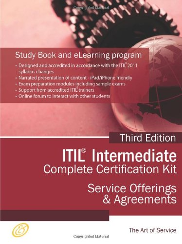 ITIL Service Offerings and Agreements (SOA) Full Certification Online Learning and Study Book Course - The ITIL Intermediate SOA Capability Complete Certification Kit - Third Edition por Ivanka Menken