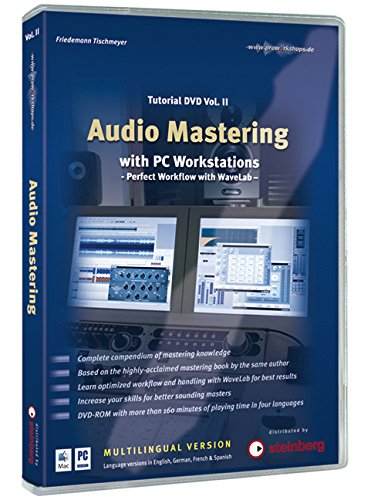 Preisvergleich Produktbild Audio Mastering with PC Workstations,  1 DVD-ROM (mehrsprachige Version) Tutorial. Perfect Workflow with WaveLab. Für Windows XP oder Mac OS X 10.4. In ... Deutsch,  Französisch u. Spanisch. 160 Min.