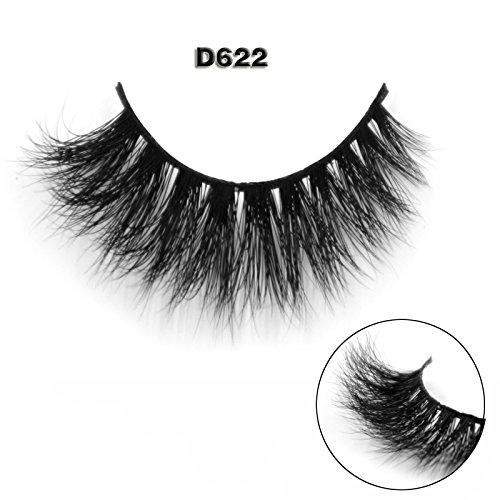 45 Modell 3D 100% Handgefertigte Künstliche Wimpern Dickes Augen Lashes Falsche Wimpern D622