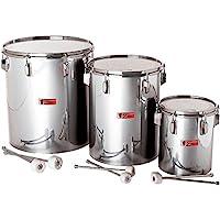 Percussion Plus pp780Samba drums en plata mate acabado (Set de 3)