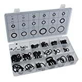 Qualtex Premium Quality Box Set Of 225 Rubber O Rings Washers Contains 18 Popular Sizes