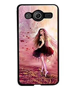 PrintVisa Designer Back Case Cover for Samsung Galaxy Core Prime :: Samsung Galaxy Core Prime G360 :: Samsung Galaxy Core Prime Value Edition G361 :: Samsung Galaxy Win 2 Duos Tv G360Bt :: Samsung Galaxy Core Prime Duos (Beautiful Young Attractive Graphic Girl Young)