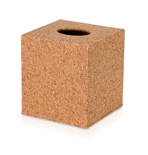 Möve Cosmetic Box, céramique en liège, Cork, 13 x 13 x 14,5 cm