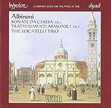 Tomaso Albinoni : Sonate Da Chiesa - Trattenimenti Armonici Per Camera