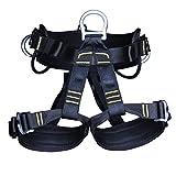 MagiDeal Erwachsene Klettergurt - Fallschutz Sitzgurt Absturzsicherung Sicherheitsgurt, stark und robust, komfort Design Gürtel