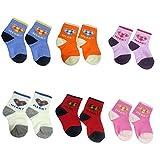 #9: Devil Soft Cotton Socks For Baby ( Pack Of 6 Pair )