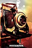 Notebook: Vintage Kodak Camera , Journal for Writing, College Ruled Size 6' x 9', 110 Pages