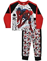 Spider-Man Boys Spiderman Pyjamas Ages 2 to 12 Years