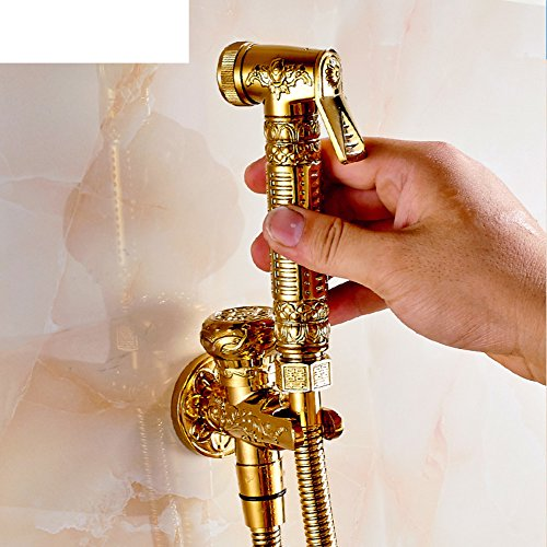 HCP Flusher/Toilettes pistolet d'or/Antique Faucet Set-A