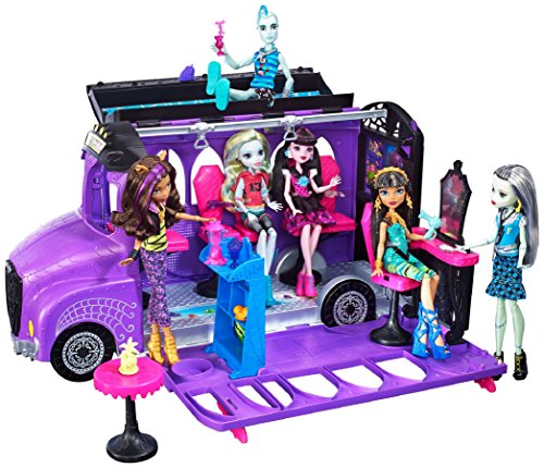 Monster High Fcv63 Deluxe Bus