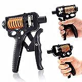 Kimmyer Handgriffstraffer Unterarmgrifftraining , Handgriffverstärker, Therapie-Handgreifer-Set, Handtrainer für Athleten und Musiker