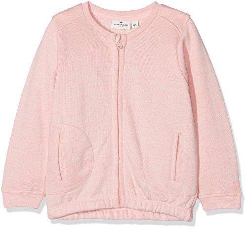 TOM TAILOR Kids Baby-Mädchen Sweatjacke Sweatjackets, Rosa (Antique Blush Pink Rose 5808), 62