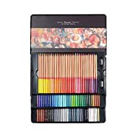 Aoforz-jumobao Renoir Fine 24/36/48/72/100 Professional Oily Color Pencils Coloured Drawing Pencil Set Art Supplies For School Office