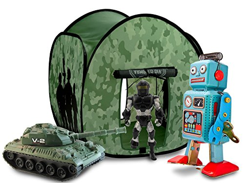Giga Tent Outdoor Travel Safety Pet Shelter Toy Storage - Mini Command Dome Tent by GigaTent -