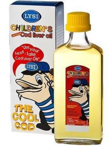 Fish-Cod-Liver-Oil-Liquid-LYSI-CHILDRENS-COD-LIVER-OIL-From-Birth-Onwards Liquid Fish Oil Omega 3