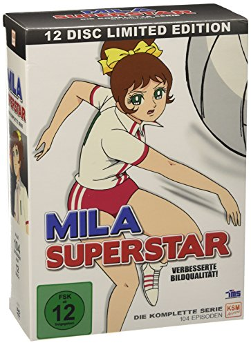 Mila Superstar - Die komplette Serie (alle 104 Episoden) [12 Disc Gesamtbox] [Limited Edition] [12 DVDs]