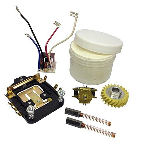 KitchenAid Speed Control, Phase Board, Gouverneur, Worm Gear, Pinsel und LKS Fett -
