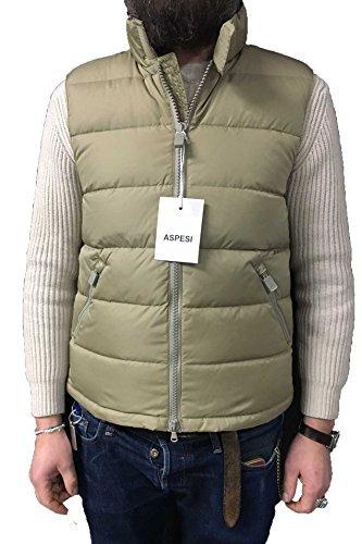 ASPESI gilet uomo mod NEW GILET PIUMA SLIM Vestibilità: Slim (M, Beige)