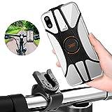 Porta Cellulare Bici, Supporto Bici Manubrio Smartphone, FishOaky 360° Rotabile MTB Moto per Bicicletta Ciclismo per 4-6.5 Pollici iPhone XR/X, Samsung, Huawei e Altri Dispositivi Elettronici