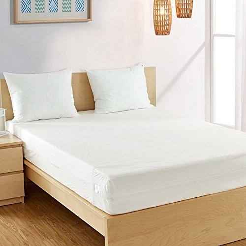 Fully Encased Waterproof Anti-Bed Bug Mattress Protector-150x200x25cms – King Sized Bed