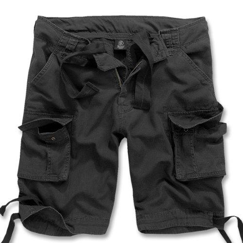 Brandit Herren Urban Legend Shorts, Schwarz (Black 2), 62 (Herstellergröße: 4XL)