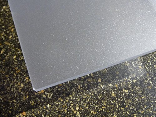 Platte Acrylglas GS 1000 x 500 x 3 mm, satiniert, farblos DC beidseitig alt-intech®
