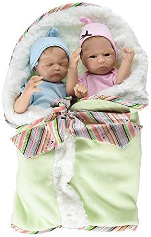 Miriam und Martin - lebensechte Zwillings-Babypuppen der renommierten Künstlerin Donna Lee