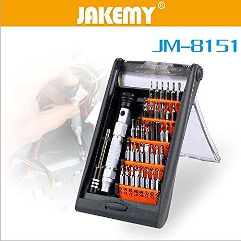 GEHOO JAKEMY 38 in 1 Portable Hand Tools Set Precision Screwdriver Set Multifunctional Tablet PC Phone Repair Tool Kit