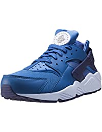 Mens Chaussures De Sport, Bleu Chaussures De Sport De Marque Nike Hommes Nike Modèle Nike Air Huarache Bleu