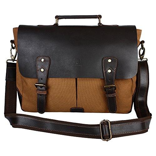 Leder Flap Shoulder Bag (Rustic Town 15