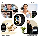 Smart Watch CulturesIn GT08 Touch Screen Bluetooth WristWatch With CameraSIM Card Slotpedometer AnalysisSleep Monitoring For Android Full Functions And IOS Partial Functions Rose Gold