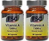 (2 Pack) - FSC - Vitamin A 7500iu | 90