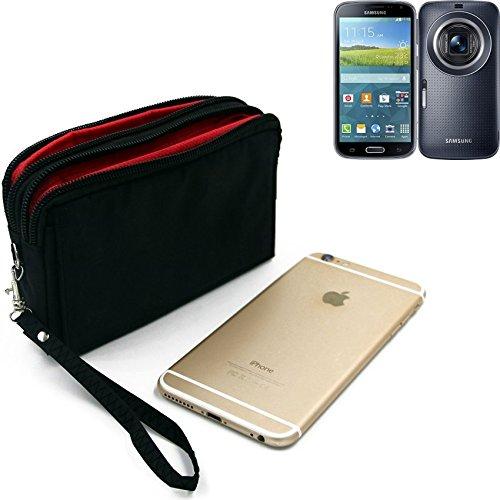 Für Samsung Galaxy K Zoom 3G Gürteltasche schwarz Travel Bag, Travel-Case mit Diebstahlschutz praktische Schutz-Hülle Schutz Tasche Outdoor-case für Samsung Galaxy K Zoom 3G - K-S-Tra