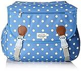 Unbekannt New Looxs Joli Double Polka Gepäckträgertasche, Blue, 38 x 16 x 29 cm