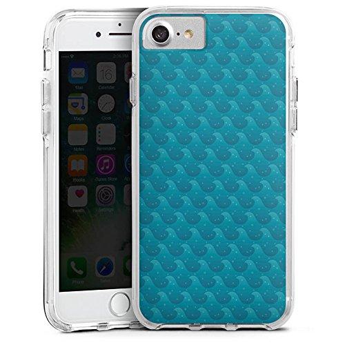 Apple iPhone 6s Bumper Hülle Bumper Case Glitzer Hülle Wellen Ocean Meer Bumper Case transparent