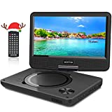 Best Portable Blu-ray Players - WONNIE 9.5 Inch Portable DVD Player with Swivel Review