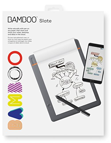 Wacom Bamboo Slate Bloc-notes Connecté pour Tablette