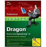 Dragon NaturallySpeaking professional wireless bluetooth v10 (avec micro sans fil plantronics)