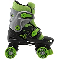 No Fear Kids Quad Skates Boys Skate Shoes Rollers Wheeled