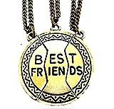 Inception Pro Infinite Collana Best Friends - Migliori Amici/Migliori Amiche (Medaglietta - 3 Pezzi)