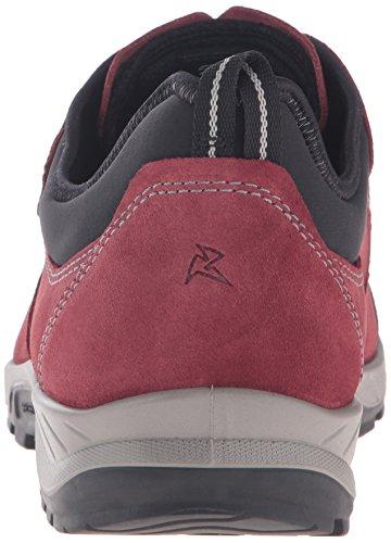 Ecco Yura, Chaussures Multisport Outdoor Homme Rouge (BLACK/PORT57969)